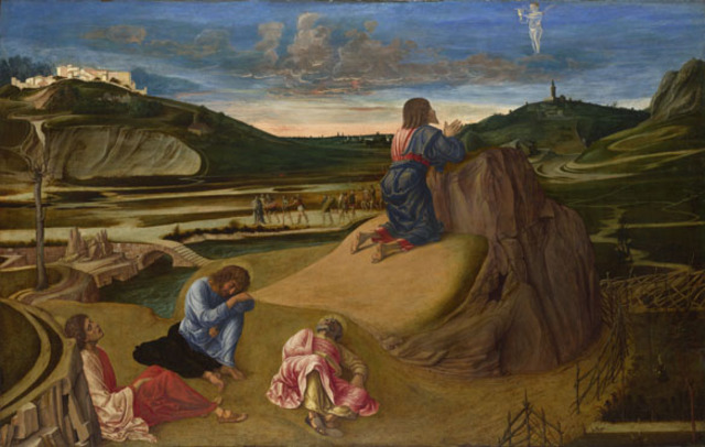 Bellini and Mantegna: The Agony in the Garden