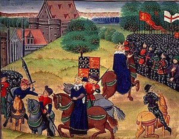 Peasants Revolt in England
