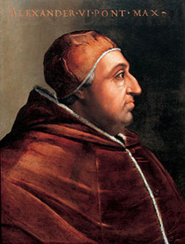 Alexander VI appointed as pope.