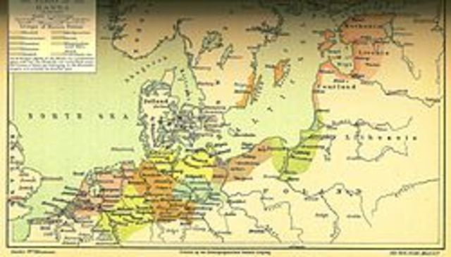 The Hanseatic League is founded