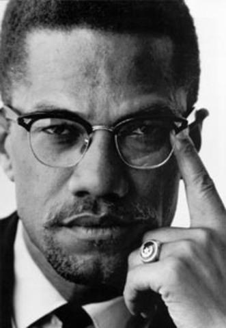 Malcolm X Birthday