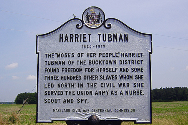Harriet Tubman historial park funded!