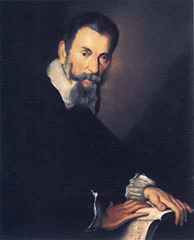 Claudio Monteverdi is born