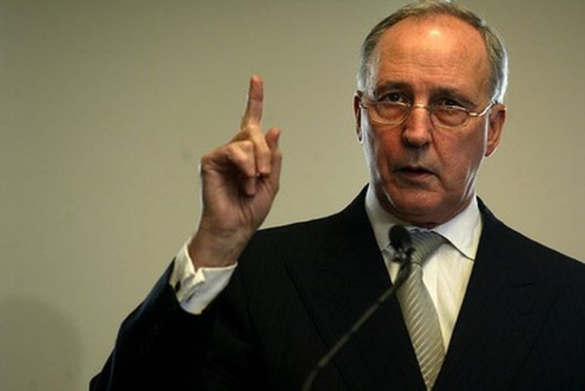 Paul Keating is elecred