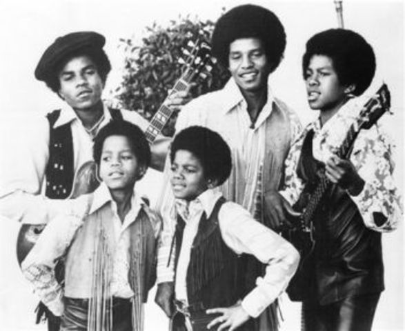 Michael becomes a member of the Jackson 5