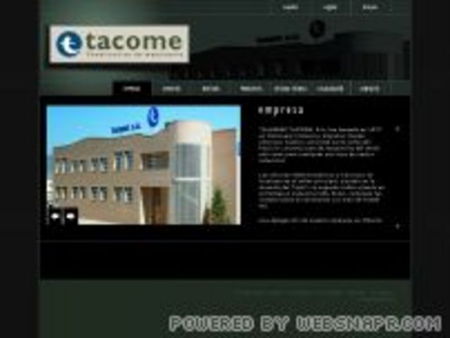 Nueva Web: Tacome
