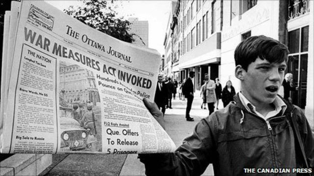 The October Crisis of 1970