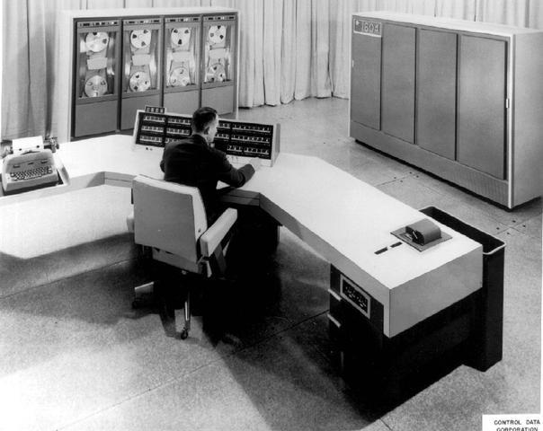 Seymour Cray, CDC 1604