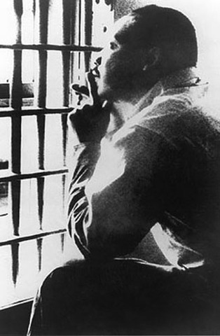 Martin Luther King is arrested and jailed during anti-segregation