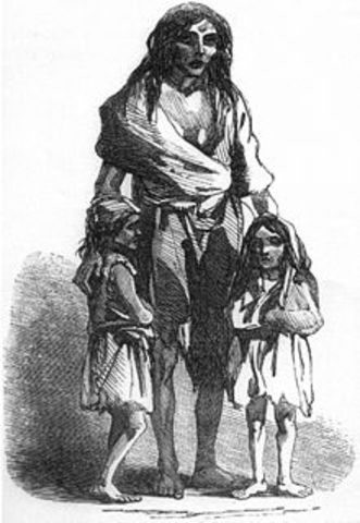 the irish famine and highland clearances