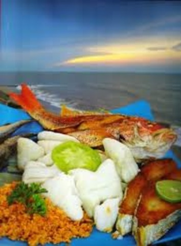 festival de platos tipicos de  colombia