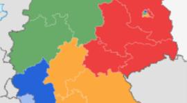 1. csapat (1945-1960) timeline