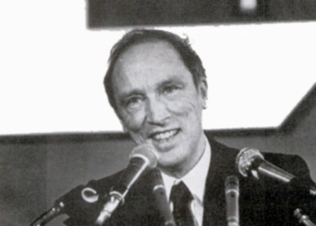 Pierre Trudeau is re-elected