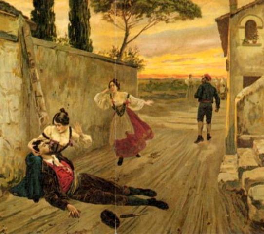 Estrena de La Caballeria Rusticana de P.Mascagni