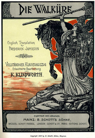 Estrena de RIDE OF THE VALKYRIES de R. Wagner