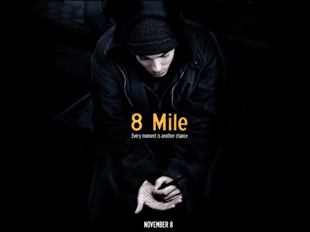Eminem stars in movie 8 mile.