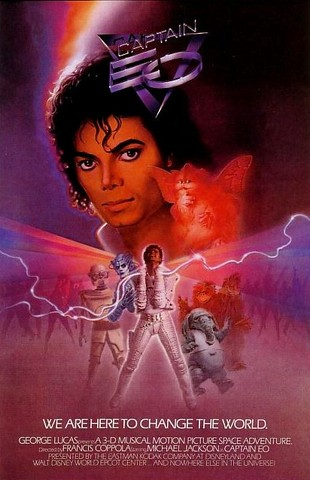 Michael Jackson stars in Francis Ford Coppola's Captain EO.