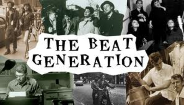 The beat Generation. Major authors: Allen Ginsberg's Howl (1956), William S. Burroughs's Naked Lunch (1959) and Jack Kerouac's On the Road (19570