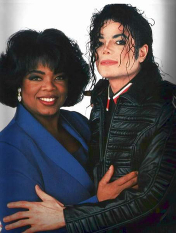 Invites Oprah Winfrey to his Neverland ranch.