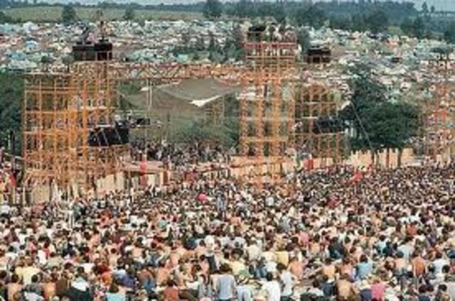 The greatest music festival of all time was born
