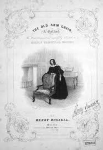 Song: The Old Arm Chair, A Ballad by Henry Russell