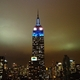 Empire state building in new york night view 4360