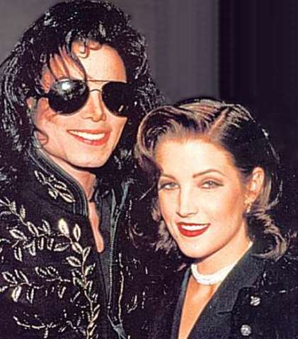 Michael Jackosn marries Lisa Marie Presley.