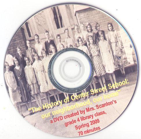 """History of Center Street School"" video"