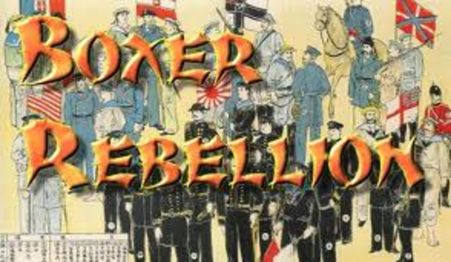 Caught in China during Boxer Rebellion