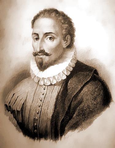 Miguel de Cervantes was born