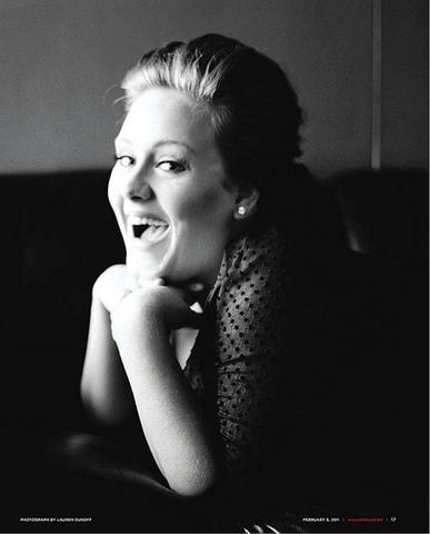 Adele is born