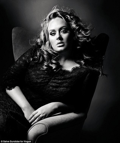 Adele auditions for BRIT school