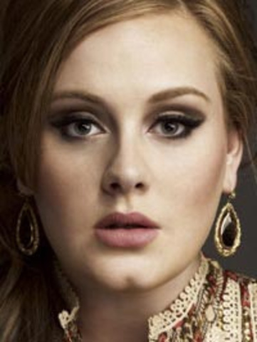 Adele signed with Columbia Records