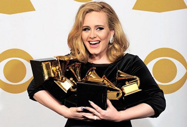 Adele Wins 6 Grammy Awards