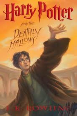 Harry Potter and the Deathly Hallows is published