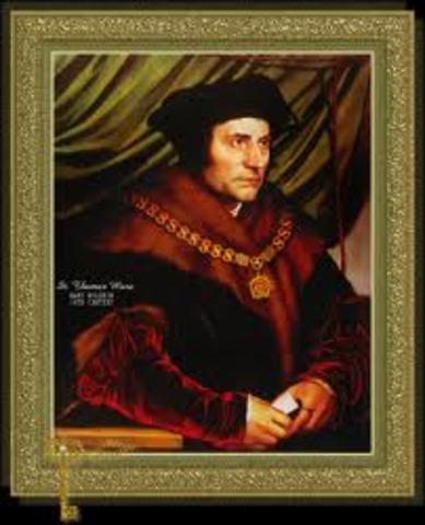 The birth os Saint Thomas More