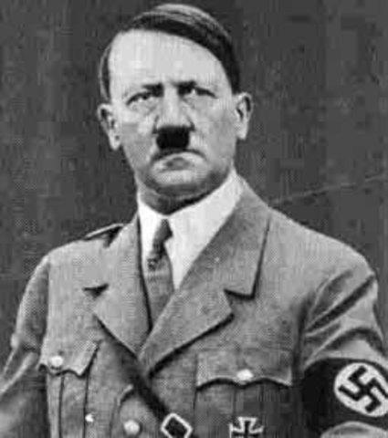 Germans elect Adolf Hitler