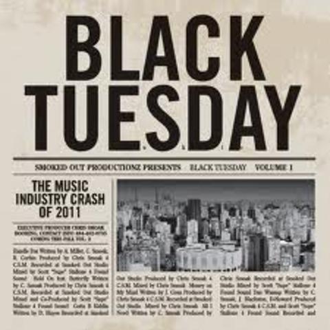 Black Tuesday (Stock market crashes)