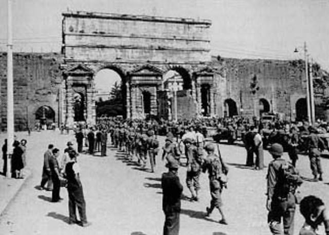 Allies Enter Rome