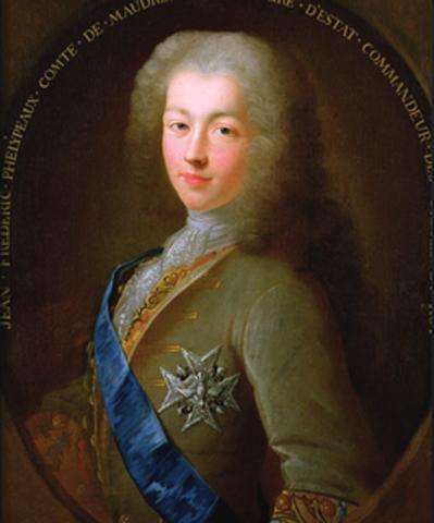 Jean-Frédéric Phélypeaux, Count of Maurepas