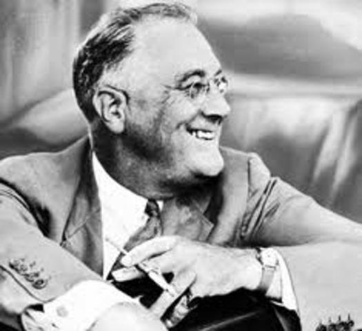 Roosevelt wins a third term