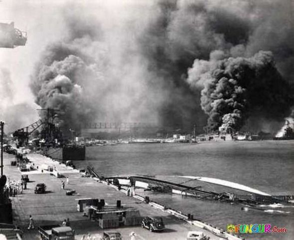 Japanese attack Pearl Harbour.