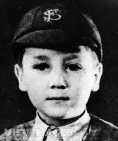 John Winston Lennon was born