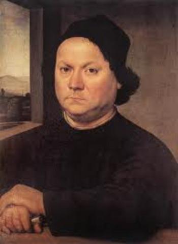 Apprentice to Perugino