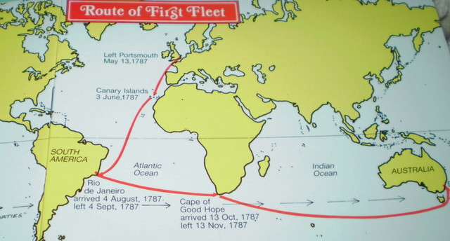 Australian migration timeline timetoast timelines first fleet settlement of australia gumiabroncs Gallery