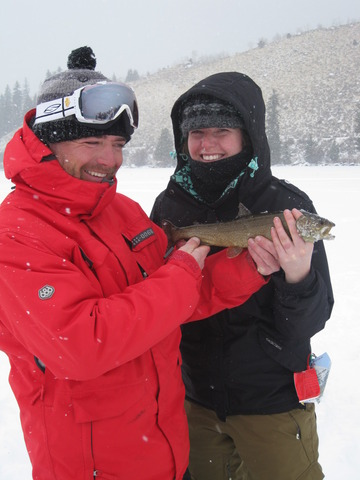 First Ice Fishing experience