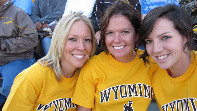 First Wyoming Football Game