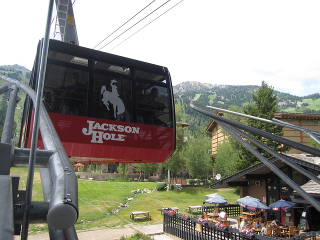 First Ride on the Jackson Hole Tram