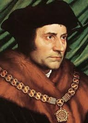 Thomas More Becomes an Undersherif of London,