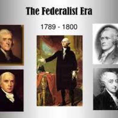 Federalist Era (Amanda Potter) timeline